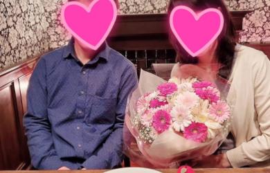 40代の会員二組が成婚になりました!